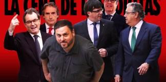 Puigdemont y Zoido en la cena de los idiotas