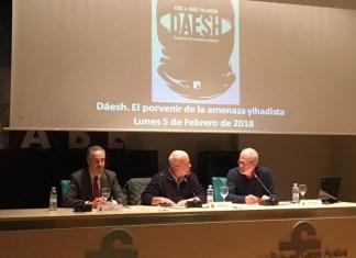 """Presentación del libro """"DAESH"""" de Jesús A. Núñez Villaverde en la Casa Árabe   FOTO: Karim Hauser @askhau"""