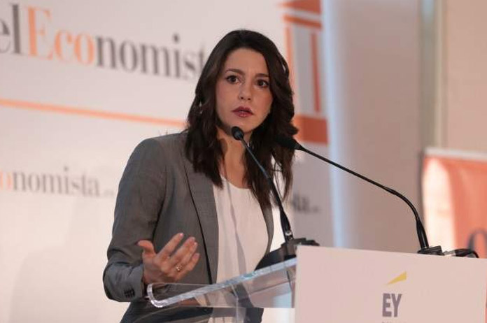 Inés Arrimadas en el Ágora de El Economista. | FOTO: ElEconomista.es