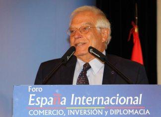 Borrell en Nueva Economía Fórum