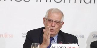Borrell en los desayunos informativos de Europa Press