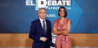 El Debate a 5 será el 23 de abril en Atresmedia