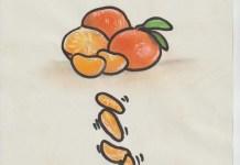 Desgajando la naranjita