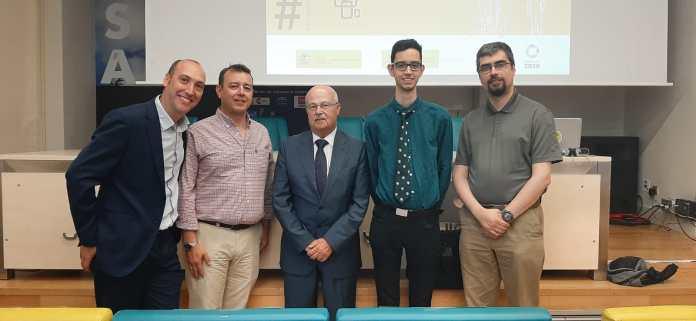 """Algunos de los participantes del Seminario """"El Sahel, la otra frontera"""" en la Cása África de Madrid"""