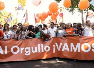 El orgullo de Ciudadanos. FOTO: EFE