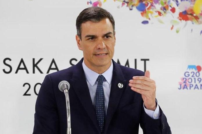 Pedro Sánchez en la cumbre del G20