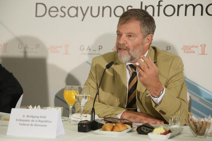 Wolfgang Dold en el Executive Forum