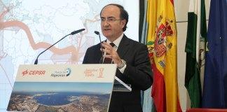 El presidente del Puerto de Algeciras, Gerardo Landaluce