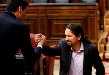 Los calzoncillos de Iglesias en el Gobierno de Sánchez