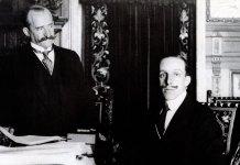 El conde de Romanones y Alfonso XIII