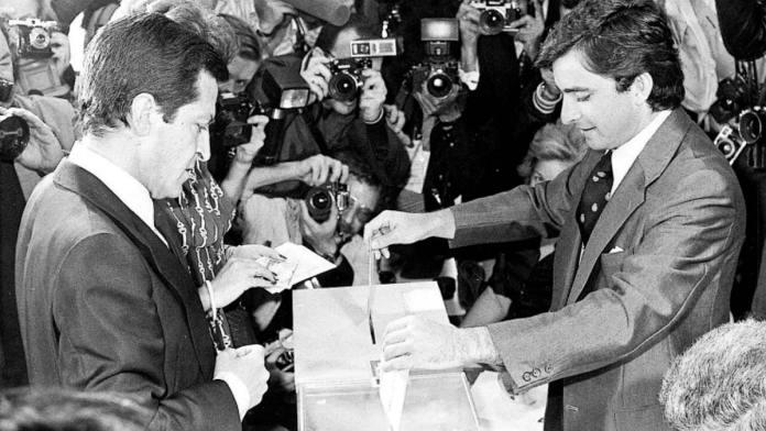 Las elecciones de 1977