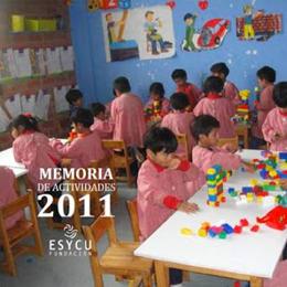 Memoria actividades fundación esycu 2011