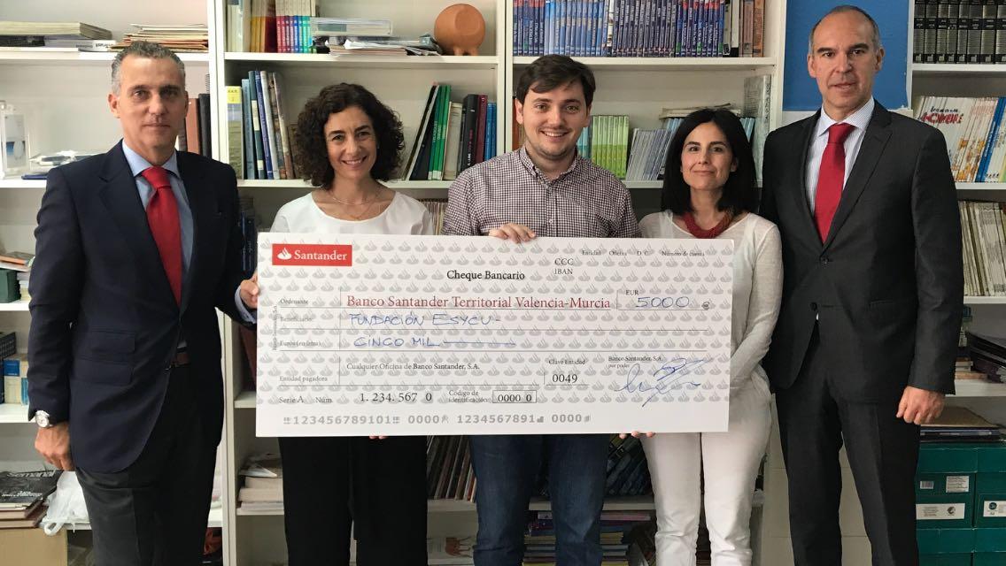 Subvención del programa Santander Ayuda