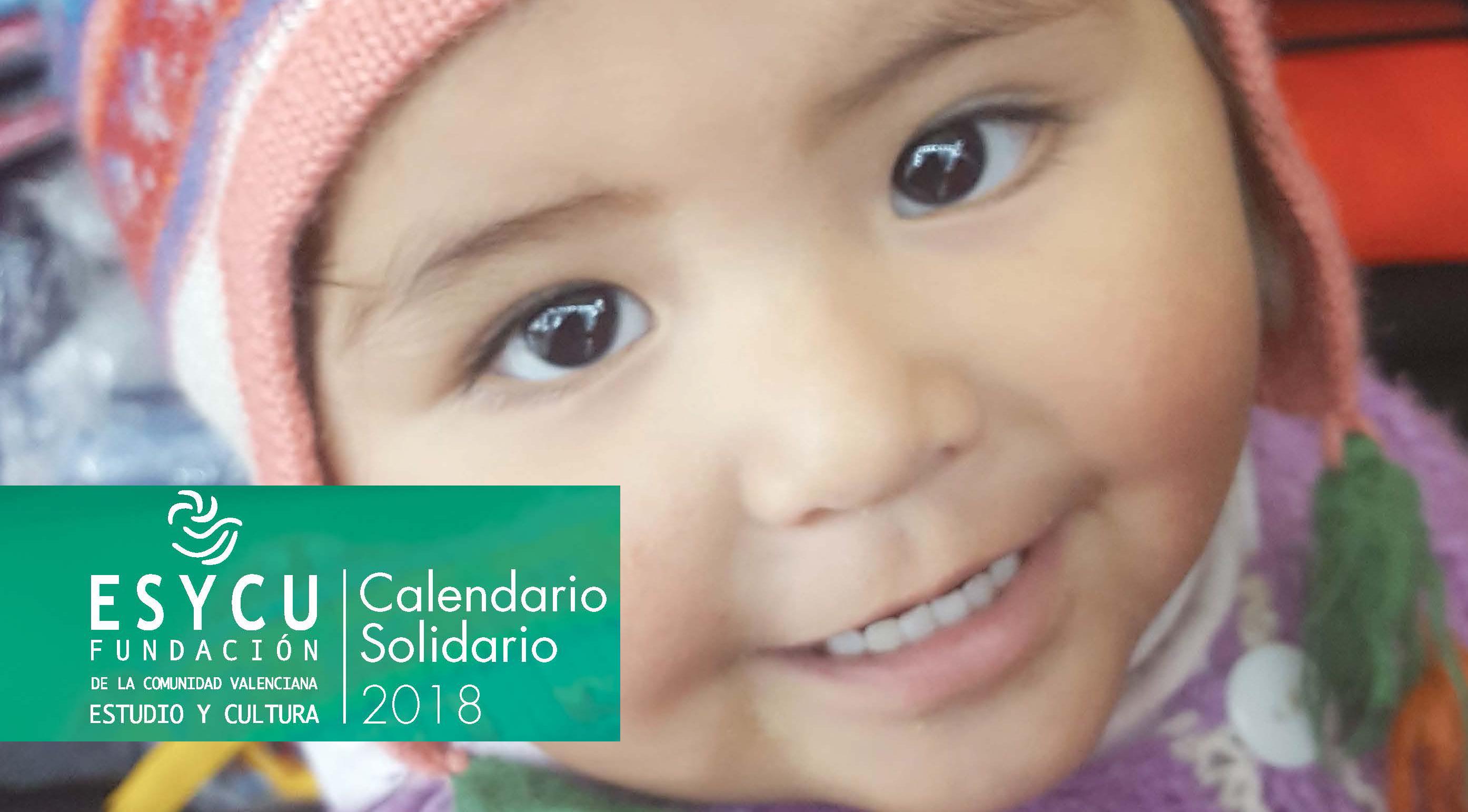 Calendario Solidario 2018