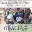 Feliz día del voluntariado