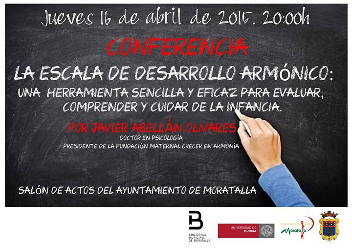 Conferencia en la sede de la Universidad de Murcia en Moratalla