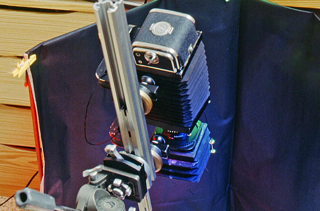 La Bonet I, 30 cm. de fuelle al servicio del Macro, con descentramientos para aplicar las Técnicas de Scheimpflug