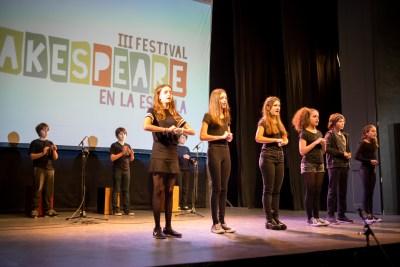 III Festival Shakespeare Escuela. Primaria. 2017-16
