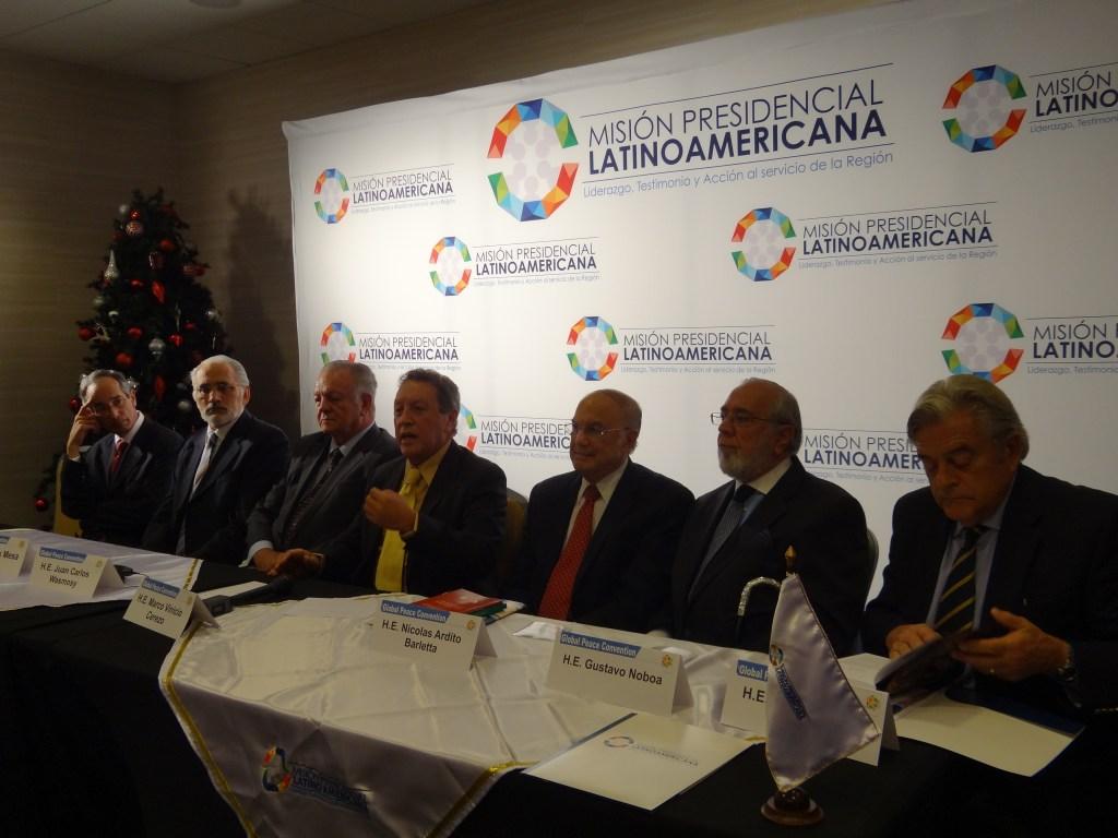 Comunicado de Prensa Misión Presidencial Latinoamericana