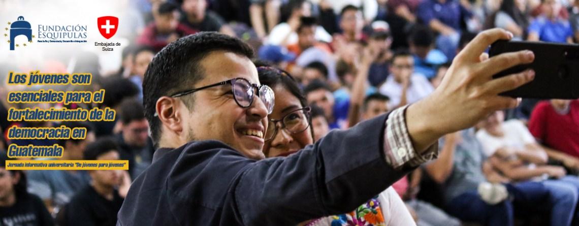 Los jóvenes son esenciales para el fortalecimiento de la democracia en Guatemala
