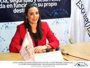 Olinda Salguer conferencia
