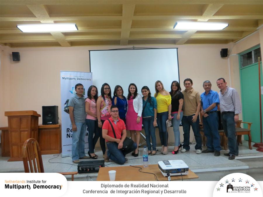 Conferencia de Integración Regional y Desarrollo – Diplomado de Realidad Nacional