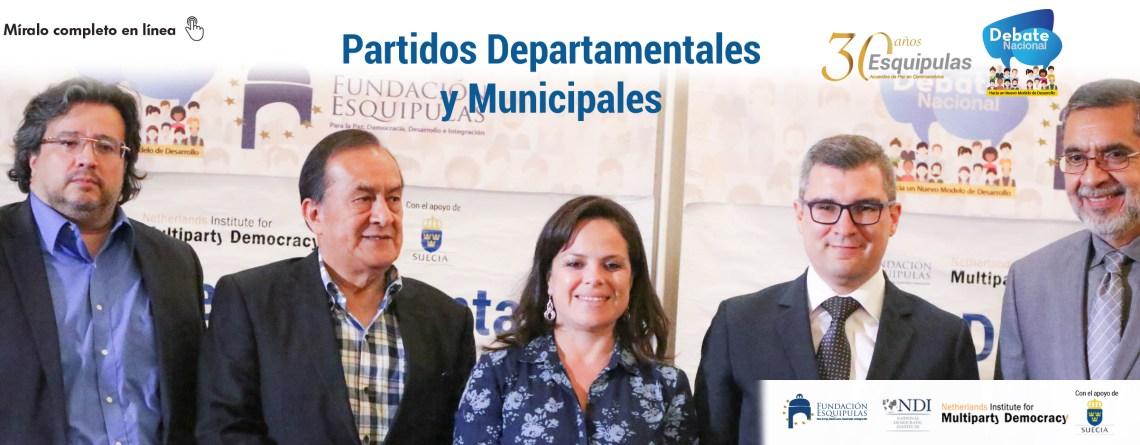 Partidos Departamentales y Municipales