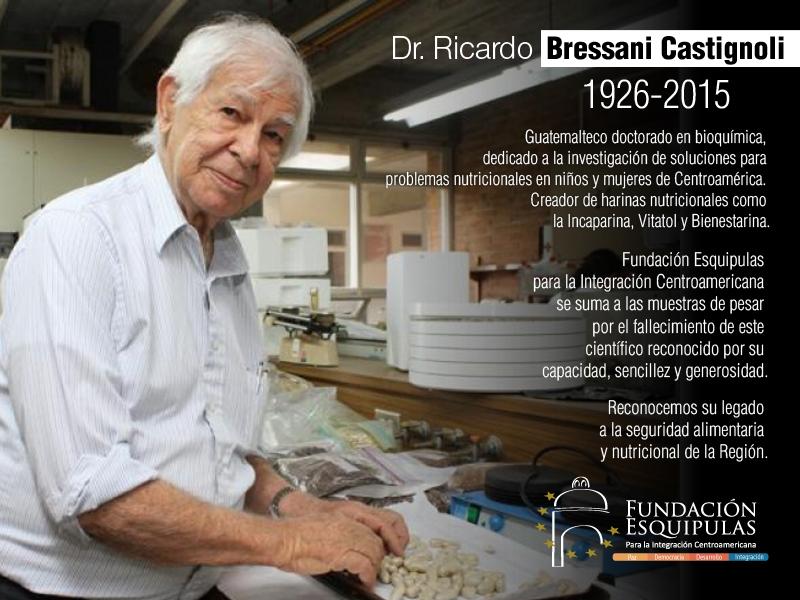 Nota Postuma: Dr. Ricardo Bressani Castignoli