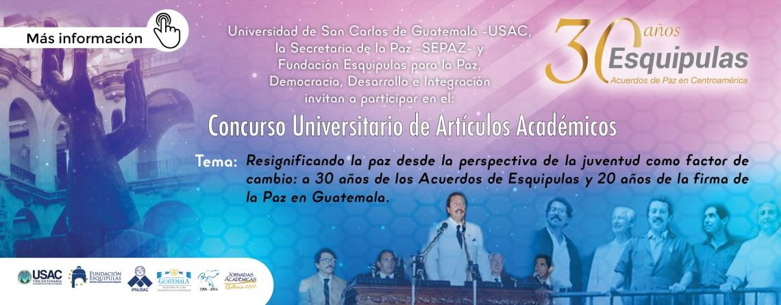 Concurso Universitario de Artículos Académicos