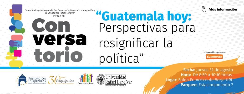 pagina web fundacion -conversatorio Guatemala hoy