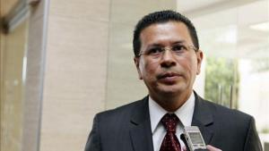 El secretario general del SICA, el salvadoreño Hugo Martínez.