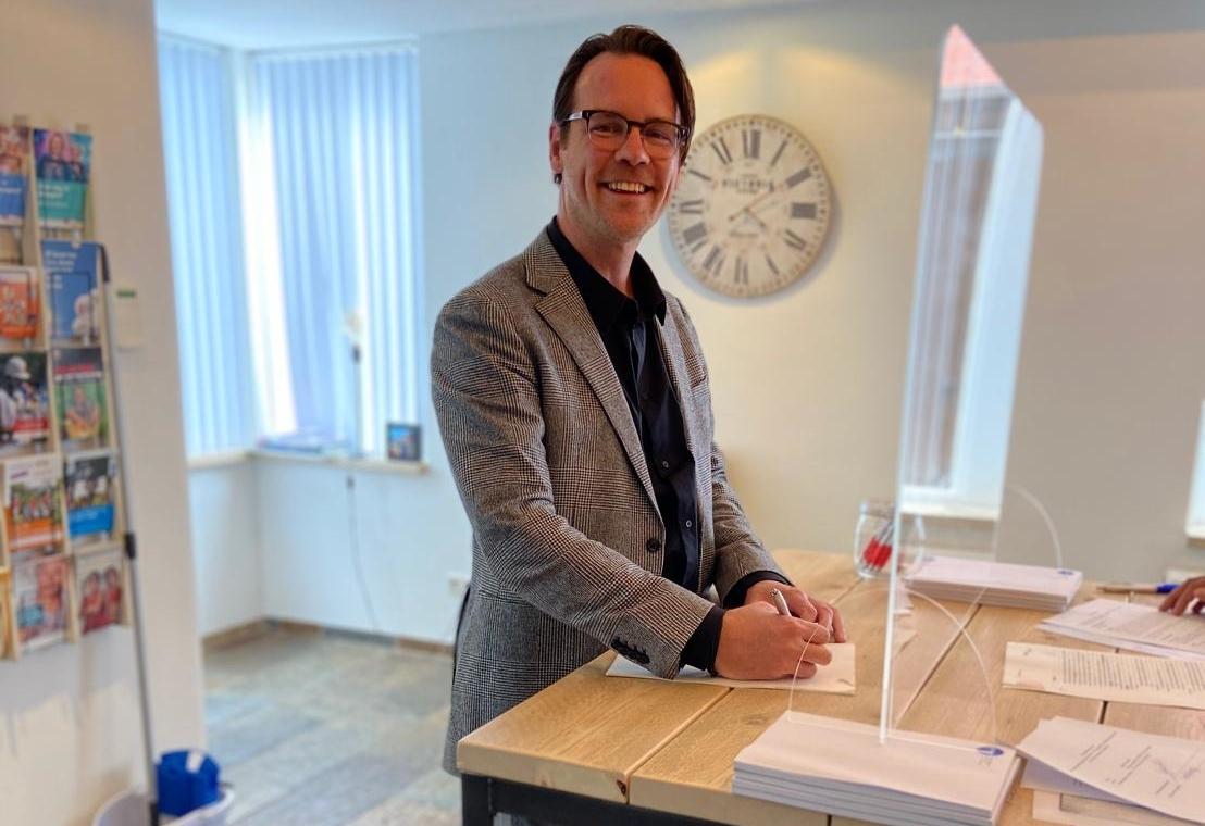 Ondertekening Fundamentum Real Estate BV