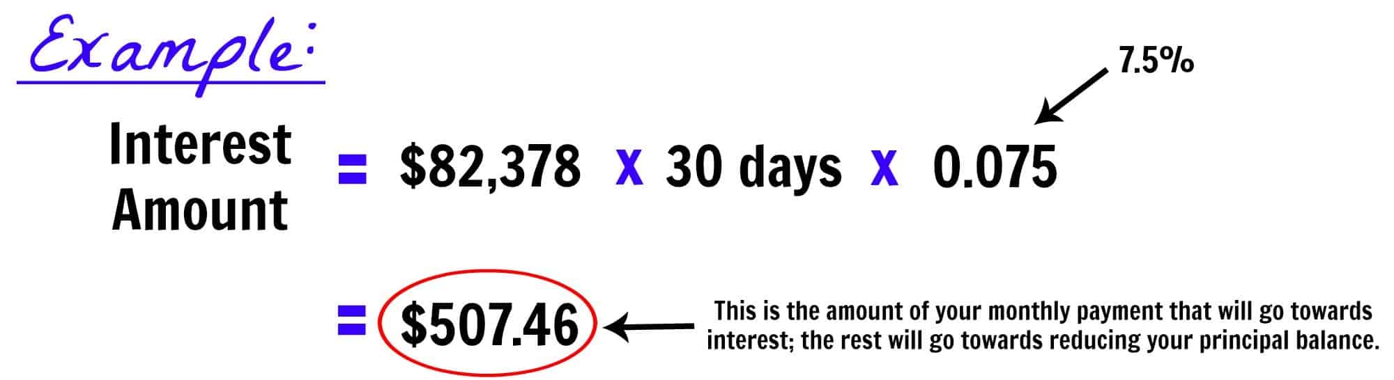 calculate student loan monthly payment
