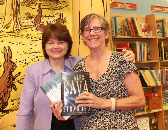 Alex Kava and Me by Sherry Fundin
