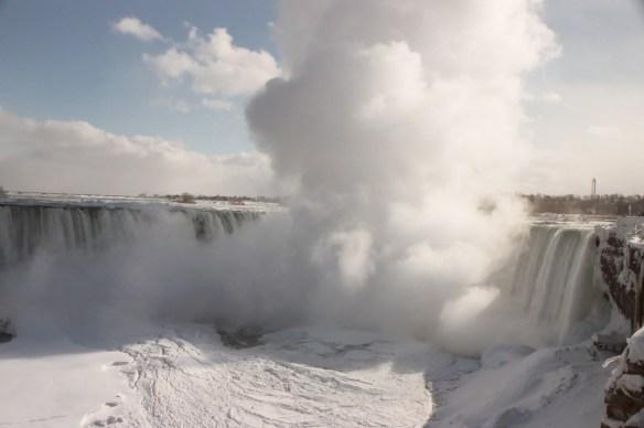 Niagara Falls in Winter by Sherry Fundin