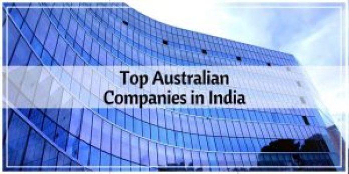 Top Australia Companies in India