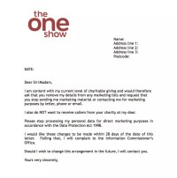 BBC's The One Show offers 'don't contact me' letter to ...