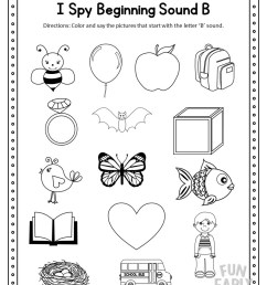 I Spy Beginning Sounds Activity - Free Printable for Speech and Apraxia [ 1056 x 816 Pixel ]