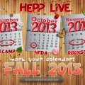 Fall 2013 - Hepp's Live Events