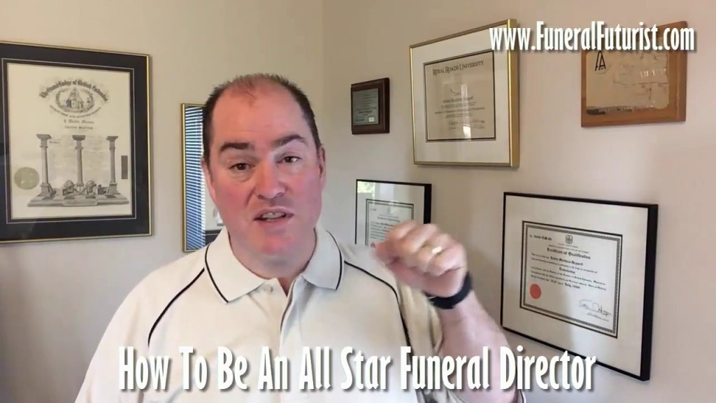 Video thumbnail for wistia video How to be an All Star Funeral Director | Funeral Futurist