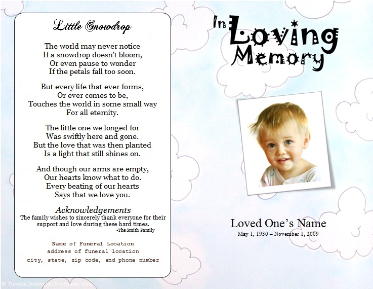 Funeral Flowers For Baby Boy