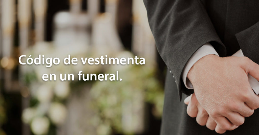 vestimenta funeral