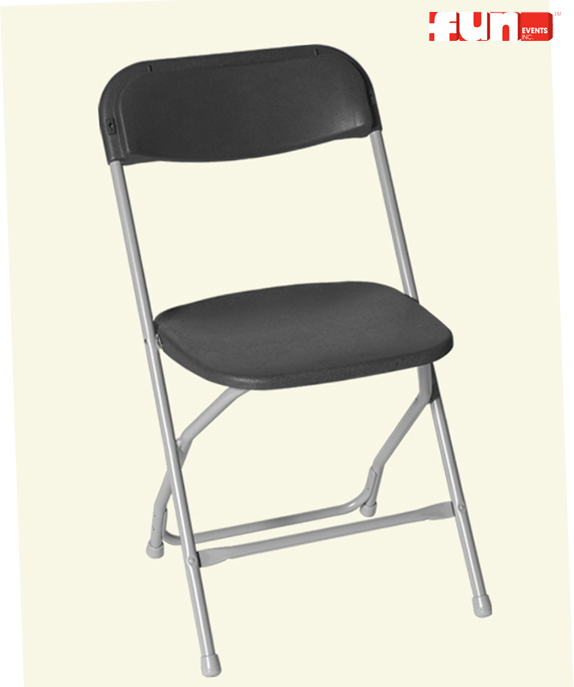 folding chairs for rent striped accent chair party rentals event services supplies rental charcoal gray