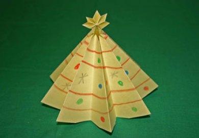 Easy Christmas Tree Card