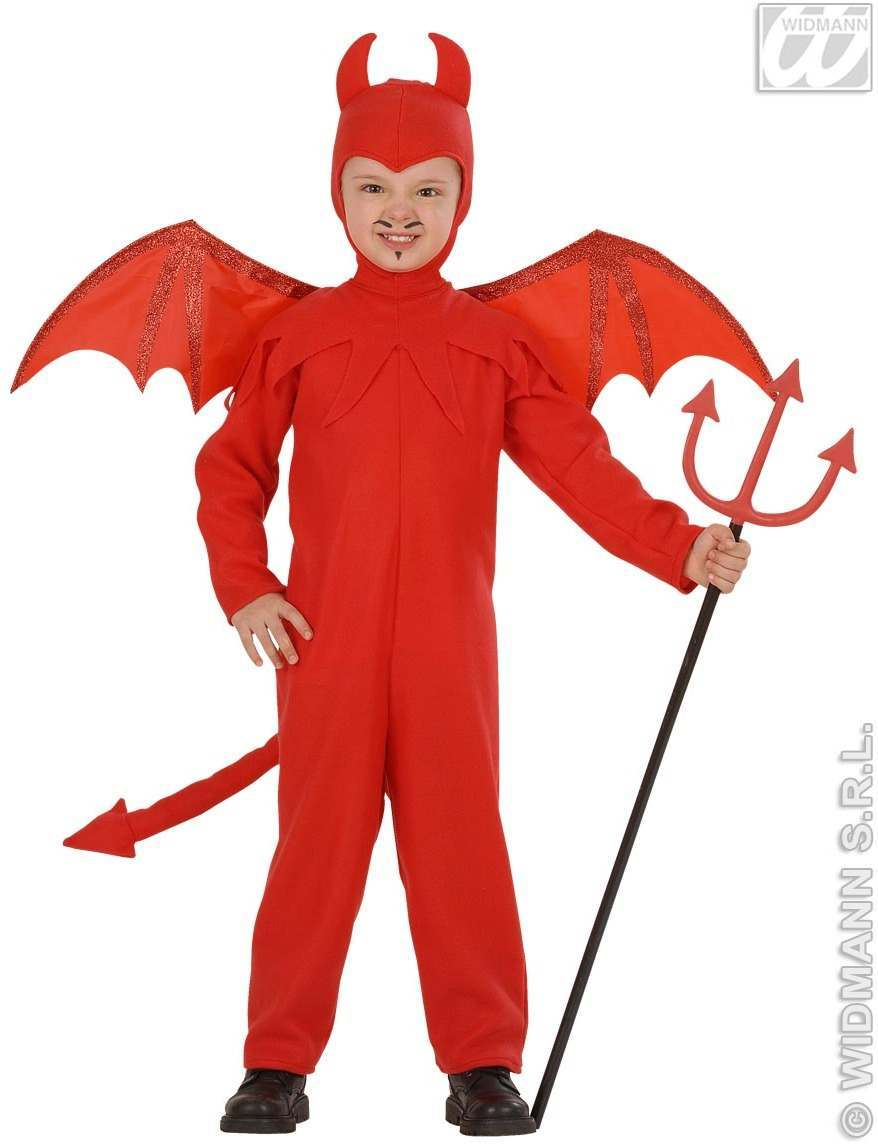 Buy Devil Child Jumpsuit Headpiece Wings Costume