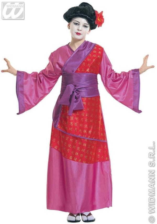 China Girl Child Costume Fancy Dress Oriental