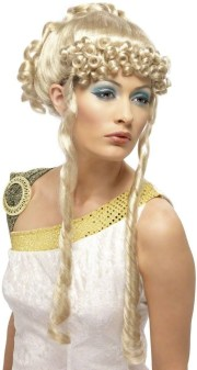 greek goddess wig - fancy dress
