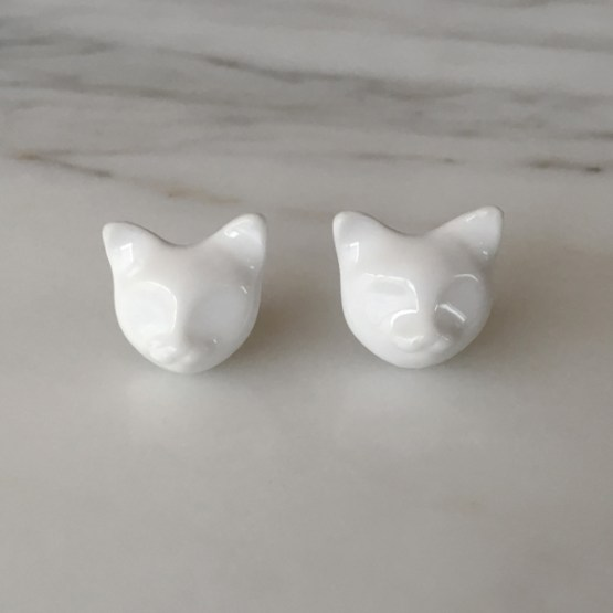 katten oorbellen