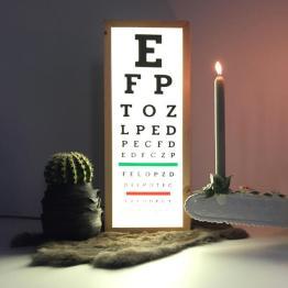 Lichtbak oogtest