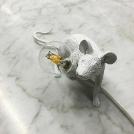 mouse lamp crouching